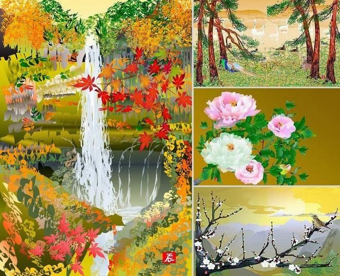 картины Тацуо Хориучи 7 (700x568, 580Kb)