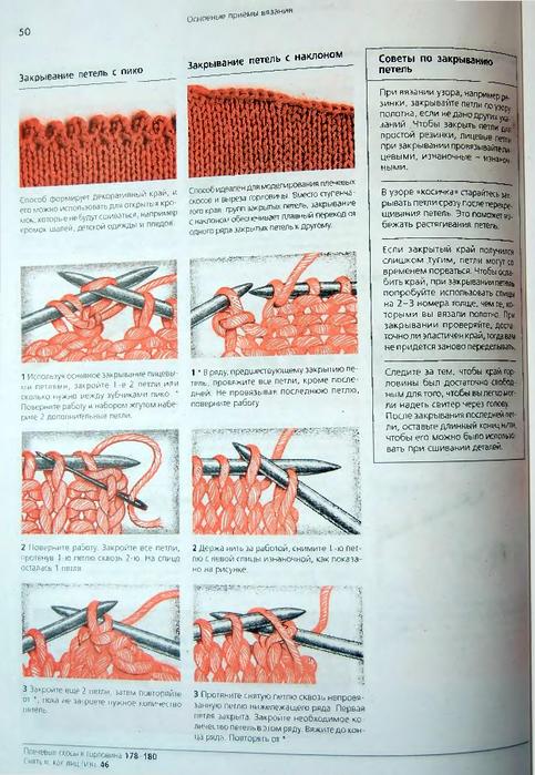 Как закрыть изделие вязание крючком