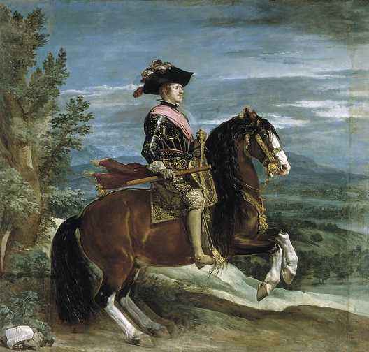 Retrato_de_Felipe_IV_a_caballo Веласкес Диего, картина Конный портрет Филиппа IV (528x504, 123Kb)