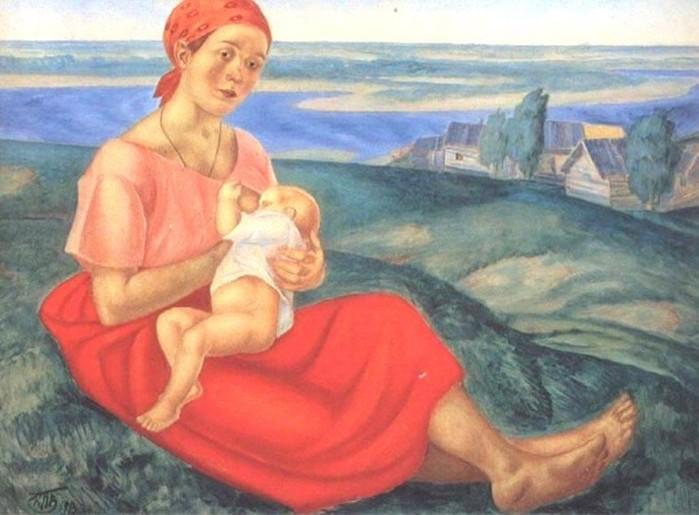 Как рожали женщины на Руси