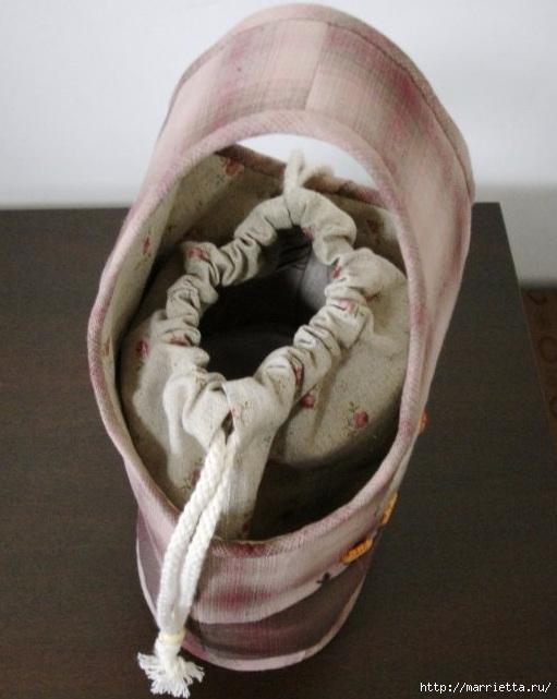 Шьем сами сумочку - корзинку для рукоделия. Выкройка (2) (511x641, 165Kb)