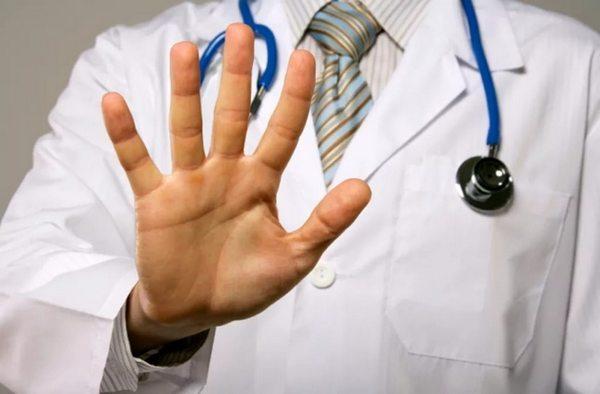врач отказался
