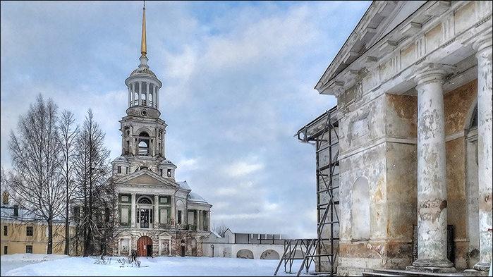 Торжок.Борисоглебский монастырь