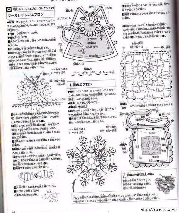 Вязание одежды для маленьких кукол. Журнал со схемами (36) (589x700, 372Kb)