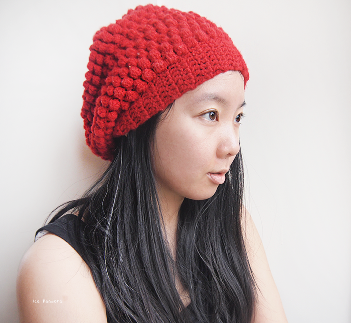 DIY crochet raspberry hat finished b (700x645, 614Kb)