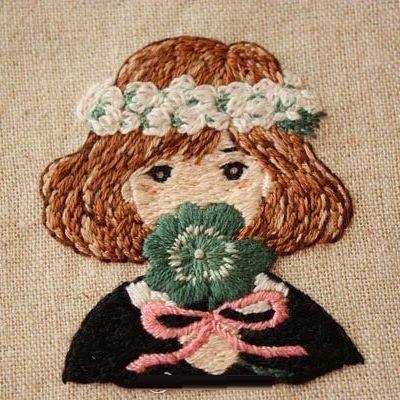 儿童主题的刺绣 - maomao - 我随心动