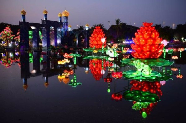 Светящийся-сад-в-Дубаи-Dubai-Garden-Glow-5 (600x397, 206Kb)