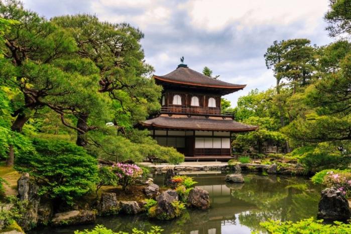4. Серебряный павильон, Киото, Япония (700x466, 441Kb)
