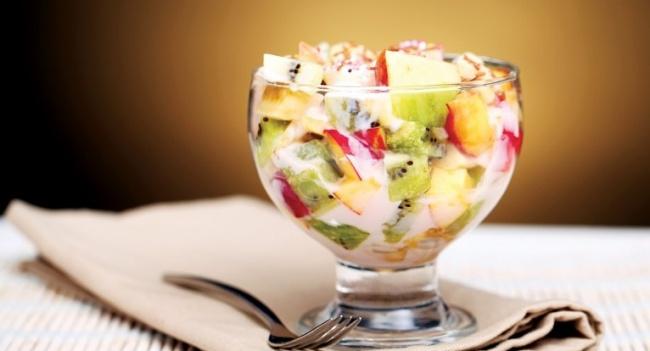 фруктовый салат рецепт с фото пошагово