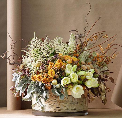 Флористика из цветов своими руками
