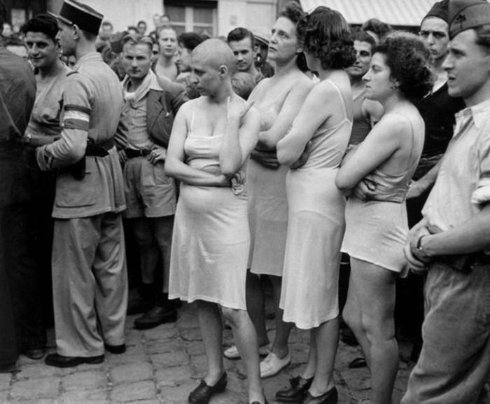 Женщины, с которыми немецким солдатам было запрещено вступать в отношения