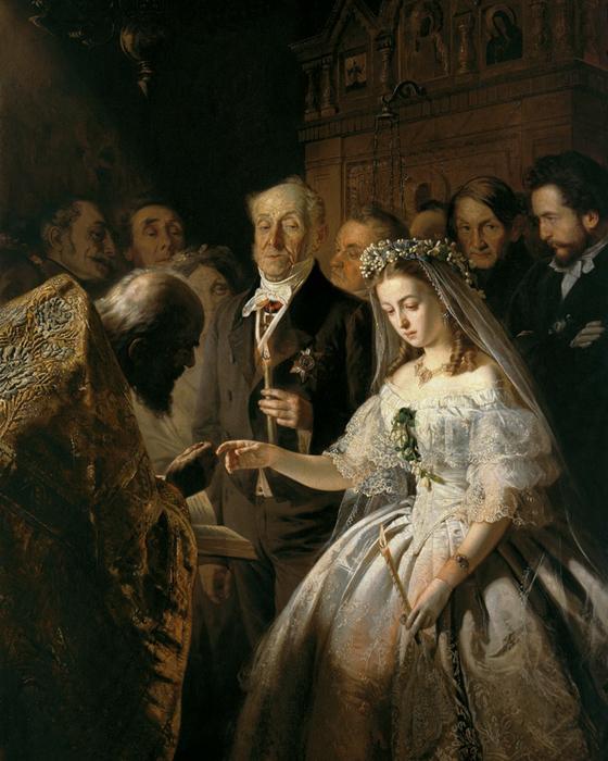 картина неравный брак Василий Пукирев 1 (560x700, 452Kb)