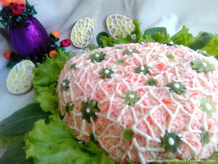 Фото салаты из яиц украшение