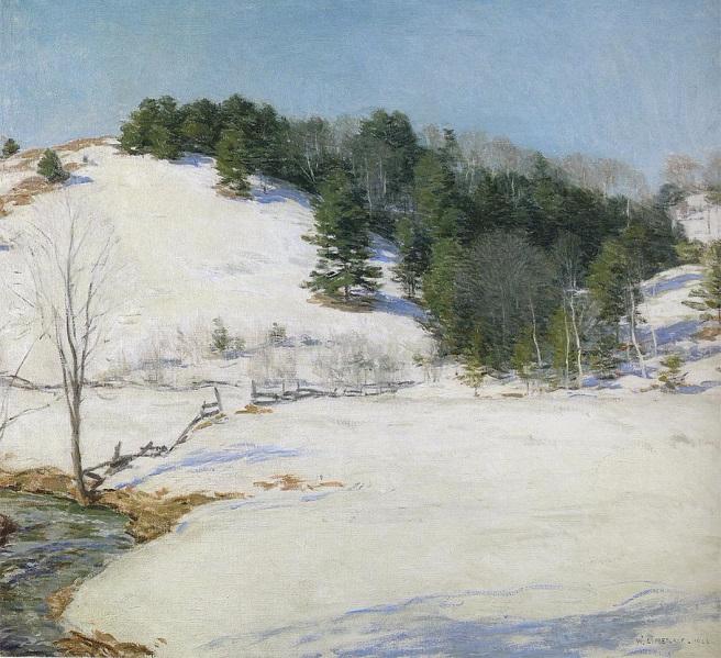 + Last Snow (656x599, 439Kb)