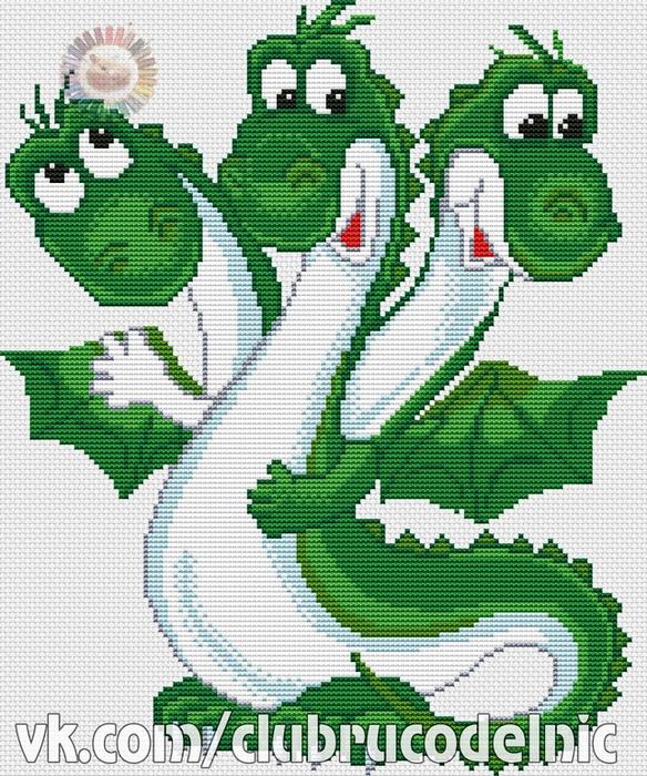 Дракон (584x700, 555Kb)
