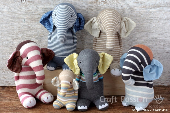 sock-elephant-family (588x392, 210Kb)