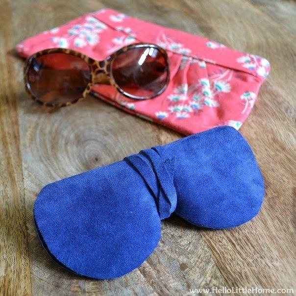 Как сшить чехол для солнцезащитных очков