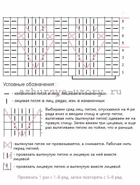 4199468_Koloskiizvytyanutyhpetelshema (463x611, 11Kb)