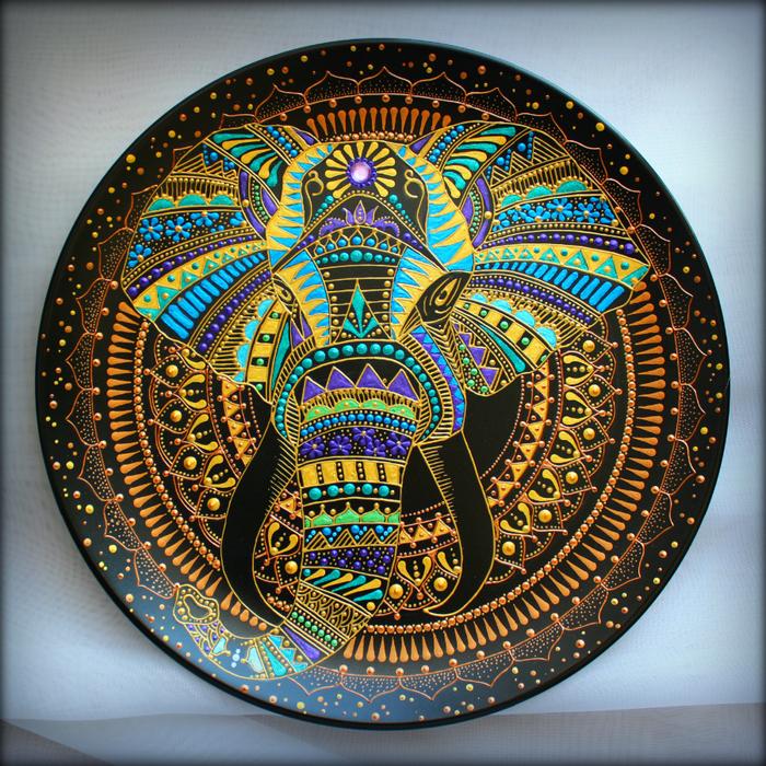 тарелка - Слон2 (700x700, 909Kb)