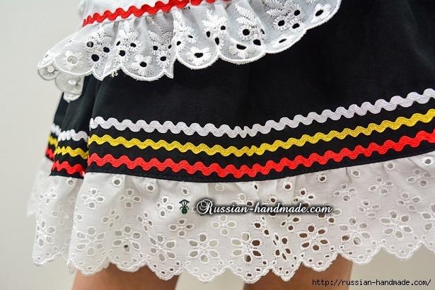 Для утренника. Платье для девочки «Немецкий Октоберфест» (5) (615x410, 206Kb)