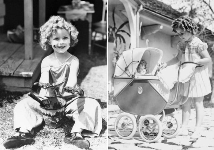 Рекорд! Ширли Темпл получила премию «Оскар» в шесть лет