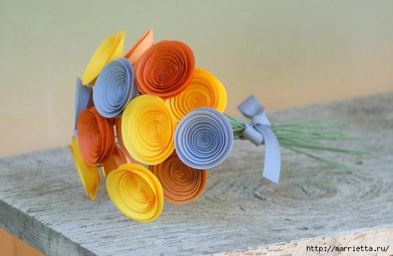 Красота и изящество спиральных бумажных розочек (17) (570x371, 113Kb)