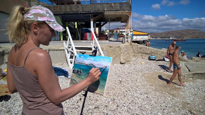 Синтетические кисти для живописи в интернет-магазине rosa.ua (2)