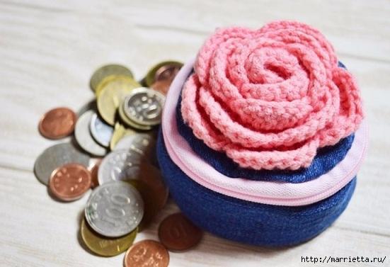 Шьем кошелек из джинсов с вязаной крючком розой (21) (551x377, 132Kb)