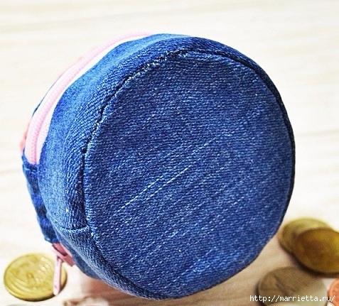Шьем кошелек из джинсов с вязаной крючком розой (25) (477x431, 186Kb)