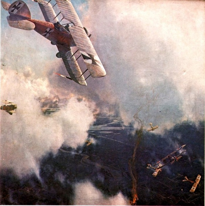 Основные воздушные войны XX века