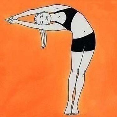 Простые упражнения йоги для укрепления мышц и похудения дома