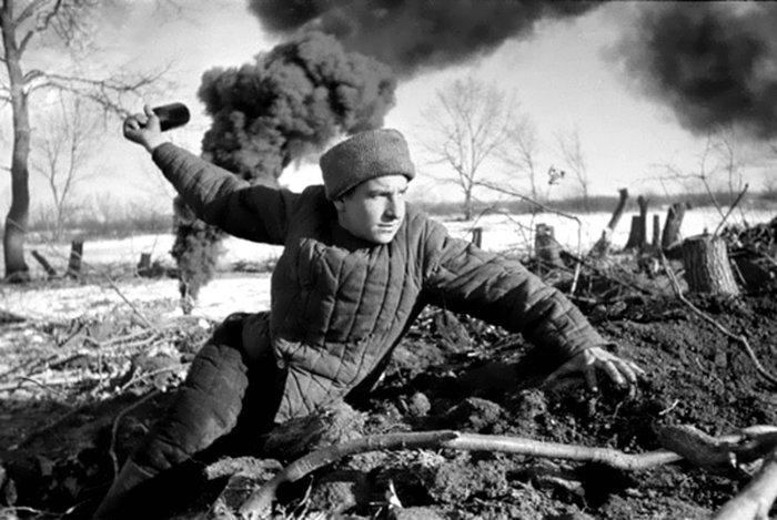 За что фашисты уважали бойцов Красной Армии