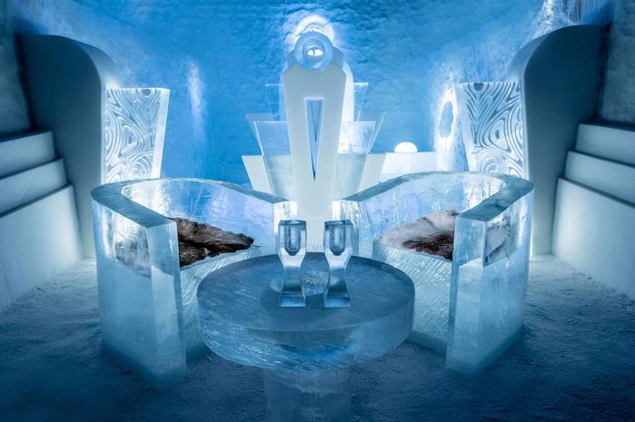 ледяной отель в швеции 4 (700x465, 354Kb)