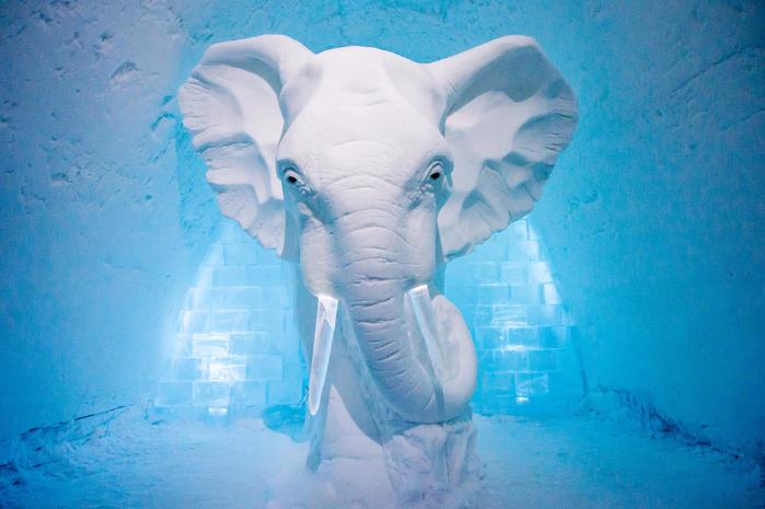 ледяной отель в швеции 8 (700x465, 378Kb)