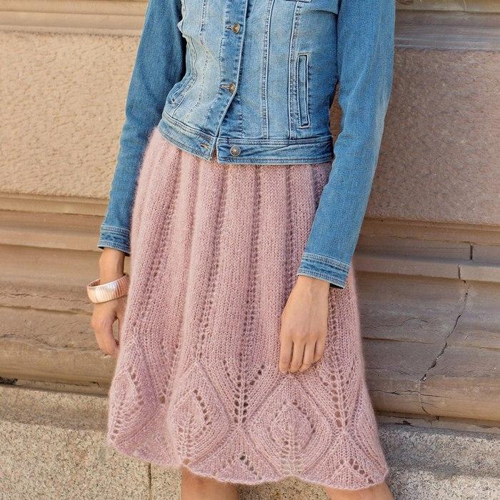 Свободная юбка