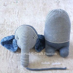 Шьем игрушки из носков - СЛОНИКИ (25) (300x300, 92Kb)