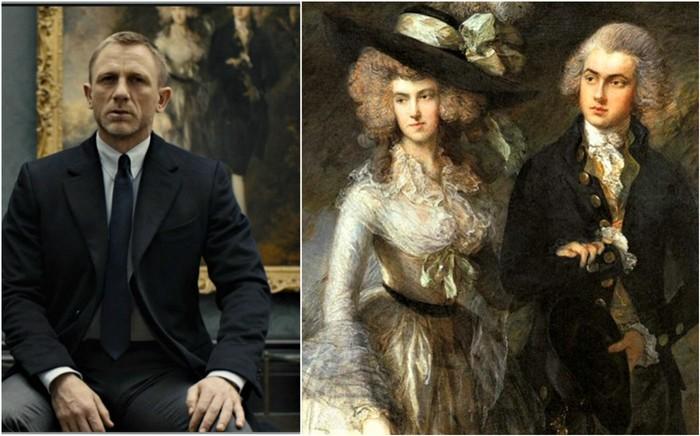 Портрет мистера и миссис Уильям Халлетт   1785 (700x436, 83Kb)