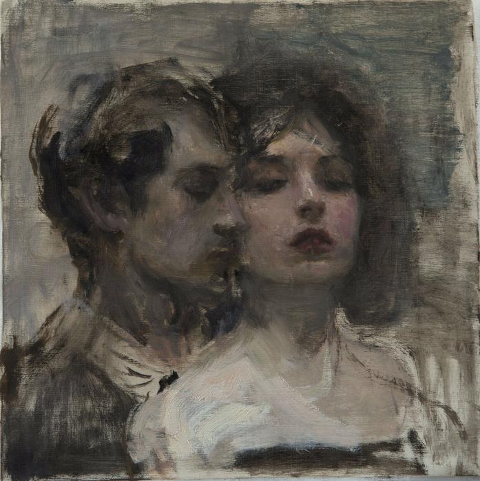 Ron Hicks Study of a Couple (697x700, 578Kb)