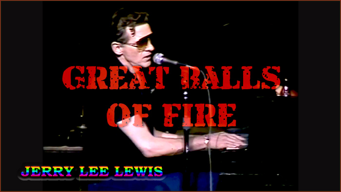 Piano tabs great balls of fire