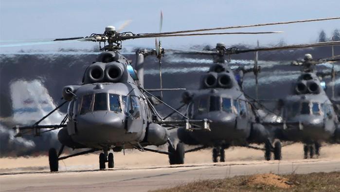 Россия меняет вертолеты на миллиарды