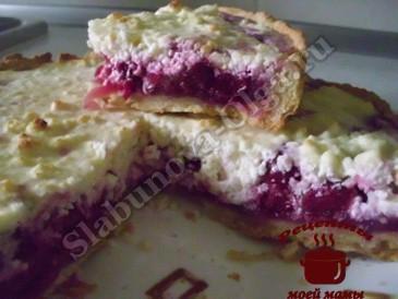 Вишневый пирог в творожном суфле готов (365x274, 112Kb)