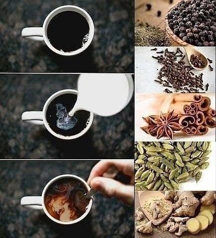 5 специй, который нейтрализуют негативное влияние кофеина на организм и заставляют кофе работать на нас