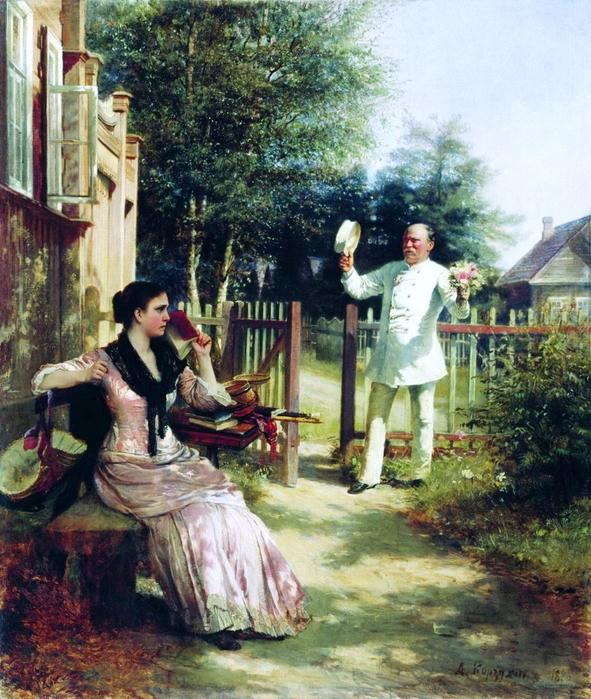 Алексей Корзухин. Надоел. 1886 (591x700, 540Kb)