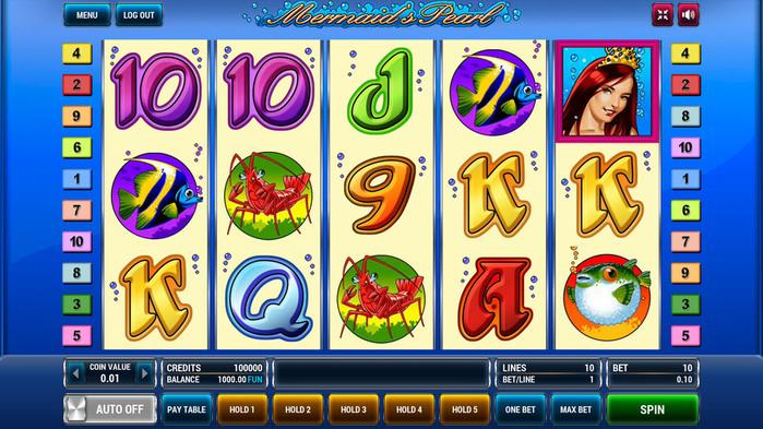 3. игровой автомат Mermaid's Pearl (700x393, 159Kb)