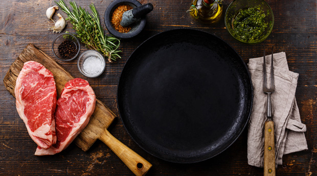 Семь ошибок при приготовлении стейка