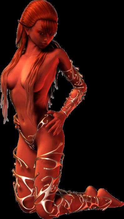 6090083_Fire_Elemental_10 (397x700, 238Kb)