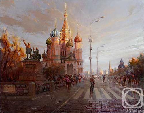Покровский собор на закате (500x392, 103Kb)