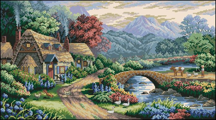 Cottage (700x388, 517Kb)