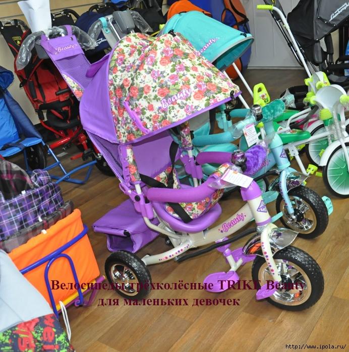 """alt=""""Велосипеды трёхколёсные TRIKE Beauty  для маленьких девочек""""/2835299_Velosipedi_tryohkolyosnie_TRIKE_Beauty__dlya_malenkih_devochek (692x700, 472Kb)"""