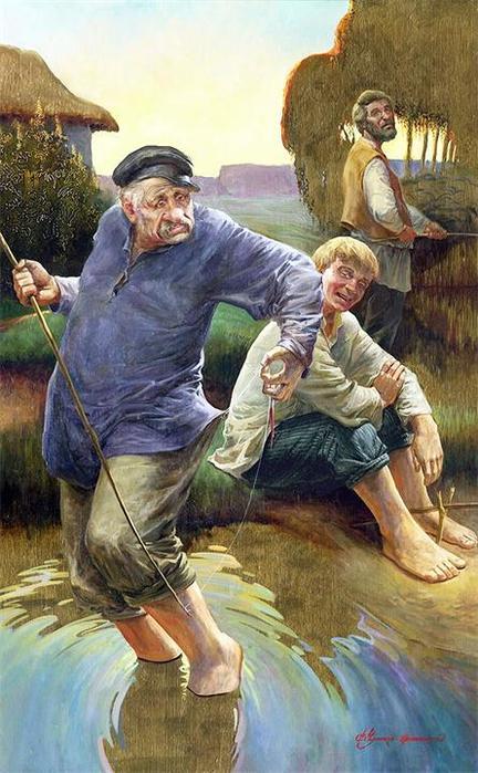 Творчество современного художника Владимира Чумакова-Орлеанского